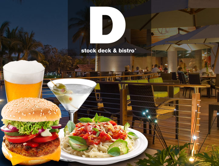 Dstock deck & bistro